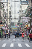 Narrow alley in Shanghai old town, China Stock Photography