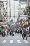 Narrow alley in Shanghai old town, China Stock Images