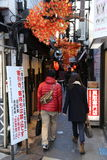 Narrow Alley in Tokyo Royalty Free Stock Image