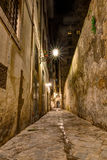 Narrow alley in Tuscany Royalty Free Stock Photography