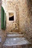 Narrow alley in Ulcinj - Montenegro Stock Photos