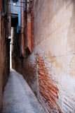 Narrow alley in Venice Royalty Free Stock Image