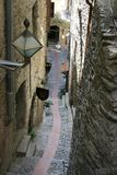 Narrow alleyway Stock Photo