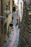 Narrow alleyway Stock Photo