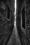 Narrow Alleyway Royalty Free Stock Image