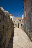 Narrow Betina street Stock Image