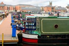 Narrow Boat Royalty Free Stock Photos