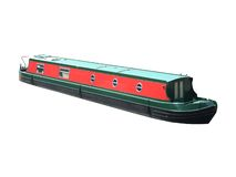 Narrow Boat. Royalty Free Stock Image