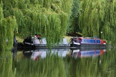 Narrow boat barge Stock Images