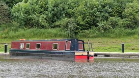 Narrow Boat. Royalty Free Stock Photos