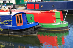 Narrow Boats Royalty Free Stock Photography
