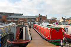 Narrow Boats Royalty Free Stock Images