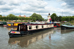 Narrow boats. Stock Images