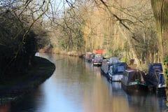 Narrow Boats Royalty Free Stock Image