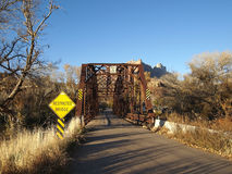 Narrow Bridge Stock Photo