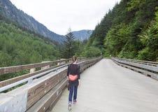 Narrow Bridge Royalty Free Stock Images