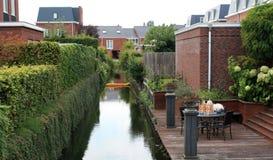 Narrow Canal Royalty Free Stock Photos