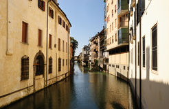 Narrow canal Stock Image