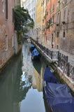 Narrow canal Stock Photo