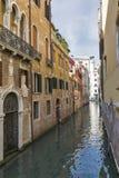 Narrow canal in Venice, Italy Stock Image