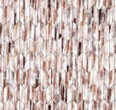 Narrow chevron natural larch parquet seamless floor texture. Background Stock Photo