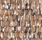Narrow chevron natural larch parquet seamless floor texture. Background Stock Photography