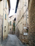 Narrow City Street Royalty Free Stock Photography