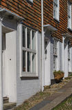 Narrow Cobbled Street in Rye Royalty Free Stock Photos