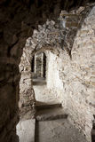Narrow corridor - Niedzica Castle, Poland. Stock Photography