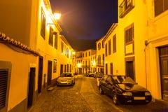 Narrow european street Royalty Free Stock Photos