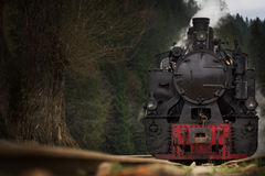 Narrow gauge locomotive Royalty Free Stock Photos