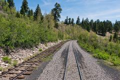 Narrow gauge Stock Photo