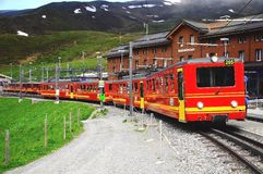 Narrow gauge railway. Stock Photos