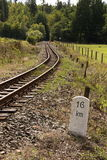 Narrow gauge railway Royalty Free Stock Photography