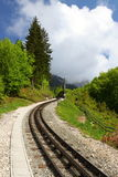 Narrow gauge railway Royalty Free Stock Photos
