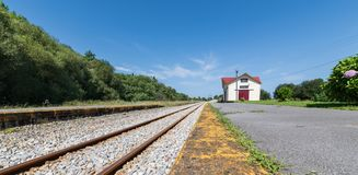 Narrow-gauge railway royalty free stock photography