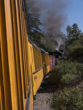 The Narrow Gauge Railway from Durango to Silverton in Colorado USA Royalty Free Stock Image
