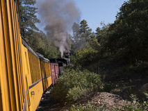 The Narrow Gauge Railway from Durango to Silverton in Colorado USA Stock Photography
