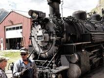 The Narrow Gauge Railway from Durango to Silverton in Colorado USA Stock Photo