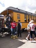 The Narrow Gauge Railway from Durango to Silverton in Colorado USA Royalty Free Stock Photos