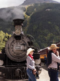 The Narrow Gauge Railway from Durango to Silverton in Colorado USA Royalty Free Stock Images
