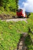 Narrow-gauge railway engine Stock Photos
