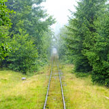 Narrow-gauge railway Royalty Free Stock Photo