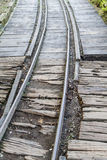 Narrow gauge railway line Stock Image
