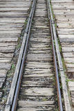 Narrow gauge railway line Stock Images