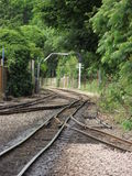 Narrow Gauge Railway Tracks Stock Image