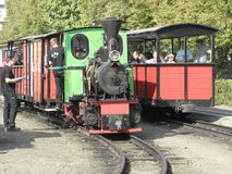 Narrow Gauge Steam Railway Train Royalty Free Stock Image
