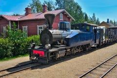 Narrow gauge steam train. Royalty Free Stock Photography