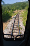 Narrow gauge track Stock Photo