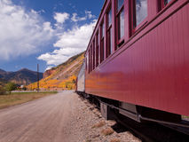 Narrow Gauge Train Royalty Free Stock Photo